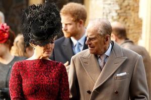 Le prince Philip était suffisament en forme pour se rendre à l'église.