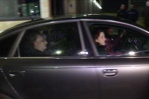 Jacqueline Sauvage à sa sortie de prison, ce mercredi.