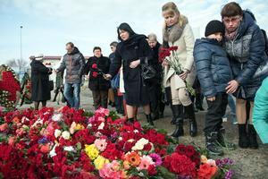 Le crash a suscité une vive émotion en Russie.