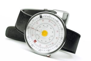 Klok-01, mouvement quartz, 399 €, Klokers.
