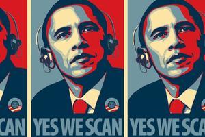 Parodie de l'affiche HOPE de Shepard Fairey