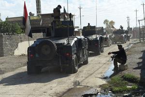 Les forces irakiennes sont entrées dans Mossoul.