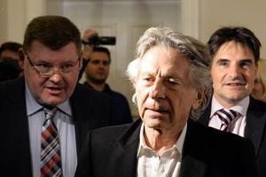 Roman Polanski en octobre 2015, soulagé après l'annonce de sa non-extradition.