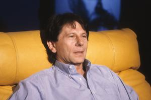 Roman Polanski, invite de l'émission «Le divan «d'Henry Chapier le 4 octobre 1992.