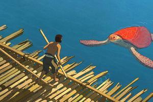 La tortue rouge © Studio Ghibli - Wild Bunch