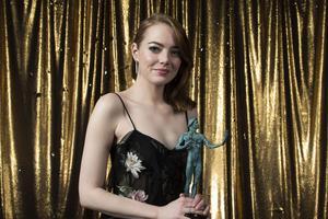 Emma Stone a été élue meilleure actrice.