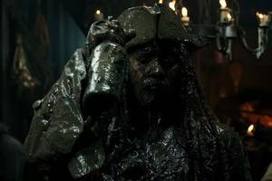 Johnny Depp dans «Pirates des Caraïbes: la vengeance de Salazar»
