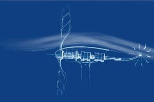 L'éolienne «libellule» de Renzo Piano.