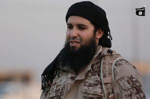Rachid Kassim, dans une vidéo de l'Etat islamique diffusée après l'attaque de Nice
