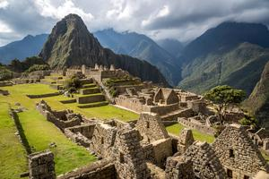 Le Machu Picchu au Pérou.