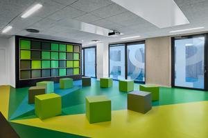 Une salle de sport transformable en salle de remue-méninges.
