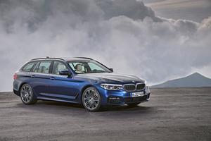 BMW Série 5 Touring.