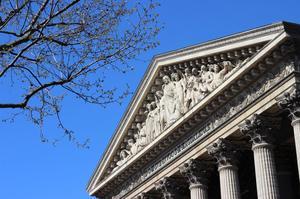 Église de la Madeleine à Paris.