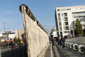 Vestige du mur de Berlin (F. Prignet/Le Figaro Magazine