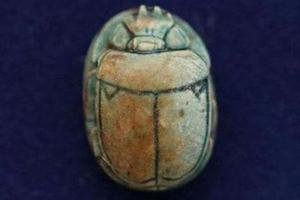 Talisman en forme de scarabée