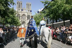 Les Fêtes johanniques àReims, les 13 et14mai prochain (jour officiel de la fête de Jeanne d'Arc).