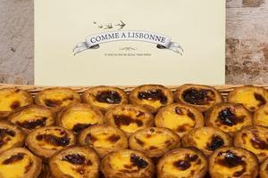 Les pasteis de nata de Comme à Lisbonne.