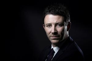 Benjamin Griveaux, 39 ans, est le porte-parole du candidat.