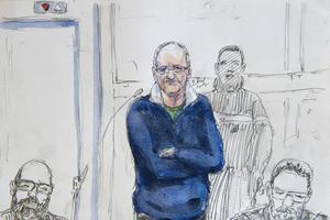 Francis Heaulme lors du premier jour de son procès.