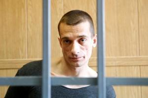 Piotr Pavlenski avant son procès en 2008, en Russie.