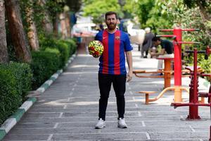 Le sosie iranien de Lionel Messi