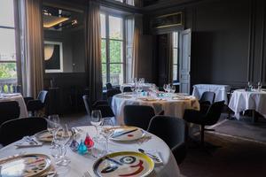 Le restaurant Guy Savoy à la Monnaie de Paris (VIe).