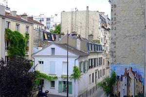 Rue du Moulin-Vert (XIVe).