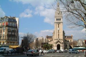 Église Saint-Pierre-de-Montrouge (XIVe).
