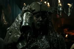 Johhny Depp dans Pirates des Caraïbes 5