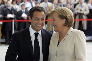 À peine installé, le président de la République avait rendu visite le 16 mai 2007 à Angela Merkel pour se mettre «tout de suite au travail».