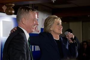 Howard Dean (ici à Durham, le 4 février 2016) a soutenu Hillary Clinton lors de la dernière campagne présidentielle.