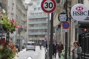 À Paris, le nombre d'accrochages impliquant des cyclistes a augmenté de 23, 3% en 2016.