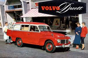 Le premier break de la marque fut le Duett, lancé en 1953.