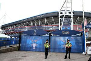 Le stade de Cardiff sera particluièrement surveillé samedi soir
