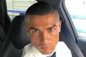 Ronaldo a désormais le crâne dégarni