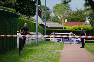 L'ancien pavillon du couple de policiers assassinés à Magnanville, en juin 2016