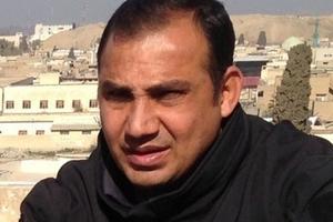 Bakhtyar Haddad, journaliste kurde, victime d'un engin explosif lundi à Mossoul.