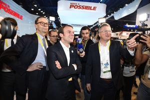Emmanuel Macron s'était rendu à Las Vegas en 2016 pour le Consumer Electronics Show.