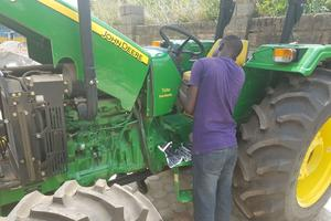 Un paysan nigérian.