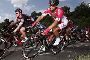 Nacer Bouhanni, coureur de l'équipe Cofidis