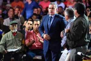 Le nouveau procureur général du Venezuela, Tarek William Saab. AFP / Juan Barreto
