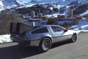 La DeLorean DMC-12 du film «Retour vers le futur»
