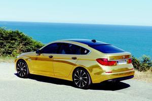 BMW Gran Turismo Série 5 plaquée or