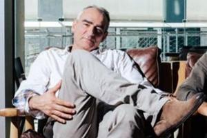Philippe Francq, le dessinateur de Largo Winch depuis 1991.