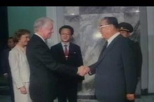 En 1994, Carter se rend à Pyongyang.