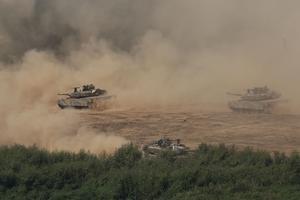 L'exercice a été effectué par la seule armée sud-coréenne mais d'autres sont en préparation avec les forces américaines en Corée du Sud.