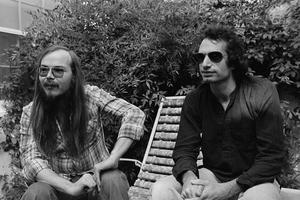 Walter Backer (à gauche) et Donald Fagen (à droite) en 1977.