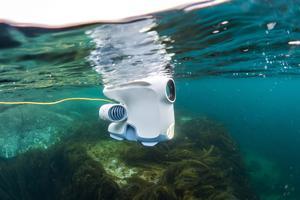 Le drone peut plonger jusqu'à 150 m de profondeur (Hurtigruten).