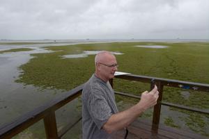 Ken Cucore, à Crystal Beach, Floride.