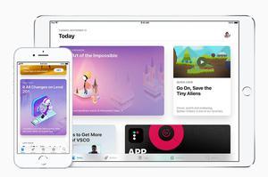 Le nouveau magazine de l'App Store. (Apple)